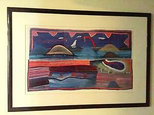Large Aboriginal Print St Leonards Willoughby Area Preview