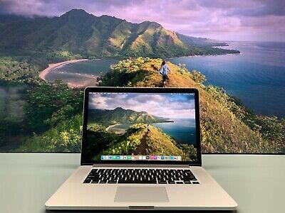 "15"" Apple MacBook Pro RETINA OS-2020 Quad Core i7 3.4Ghz 16GB 1TB SSD - WARRANTY"