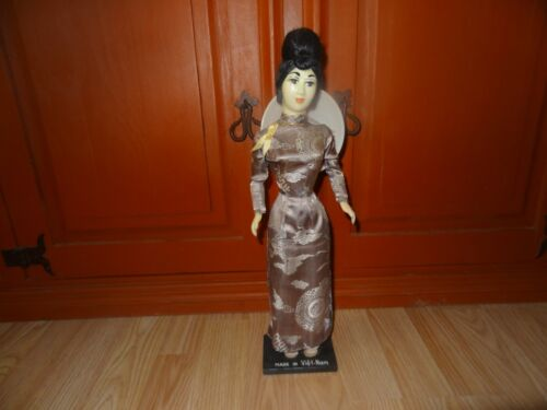 Vintage Collectible Made in Vietnam Doll Collectible Vietnamese