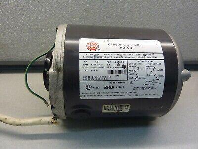 Emerson S55jxnsr-7299 Cat6079 Carbonator Pump Motor 13hp 21743