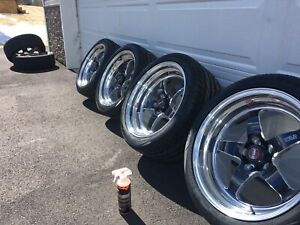 Mustang 18 Inch Weld RTS Wheels/Tires