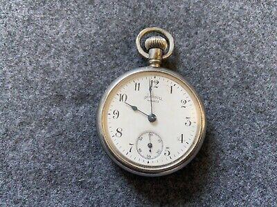 Ingersoll Yankee Mechanical Wind Up Vintage Pocket Watch