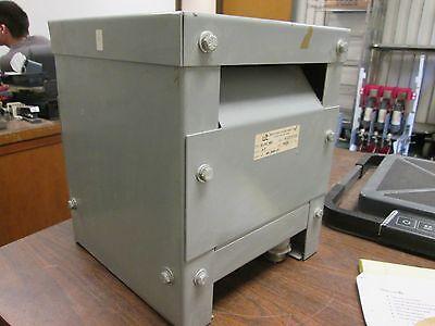Watertown Transformer Single Phase Dry Type Wt-3000-1e 3 Kva Pri 460v