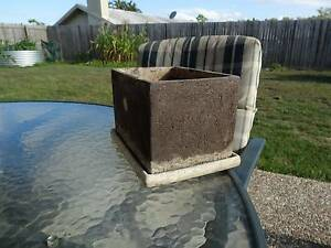 CLAY BONSAI POT AND CERAMIC TRAY. Caboolture Caboolture Area Preview