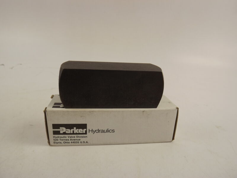 Parker Hydraulic Check Valve 5000 Psi 25.0gpm, Steel, C1200S / #1A866 NOS