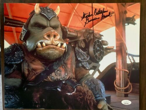 Return of the Jedi Stephen Costantino Autographed Signed 11x14 Photo JSA COA #2