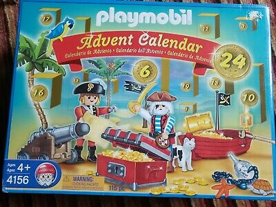 Playmobil #4156 Pirate Advent Calendar New not Lego