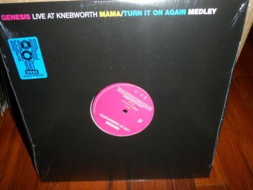 """Genesis - Live at Knebworth 12"""" Single Mama / Turn it On Again 2021 RSD"""