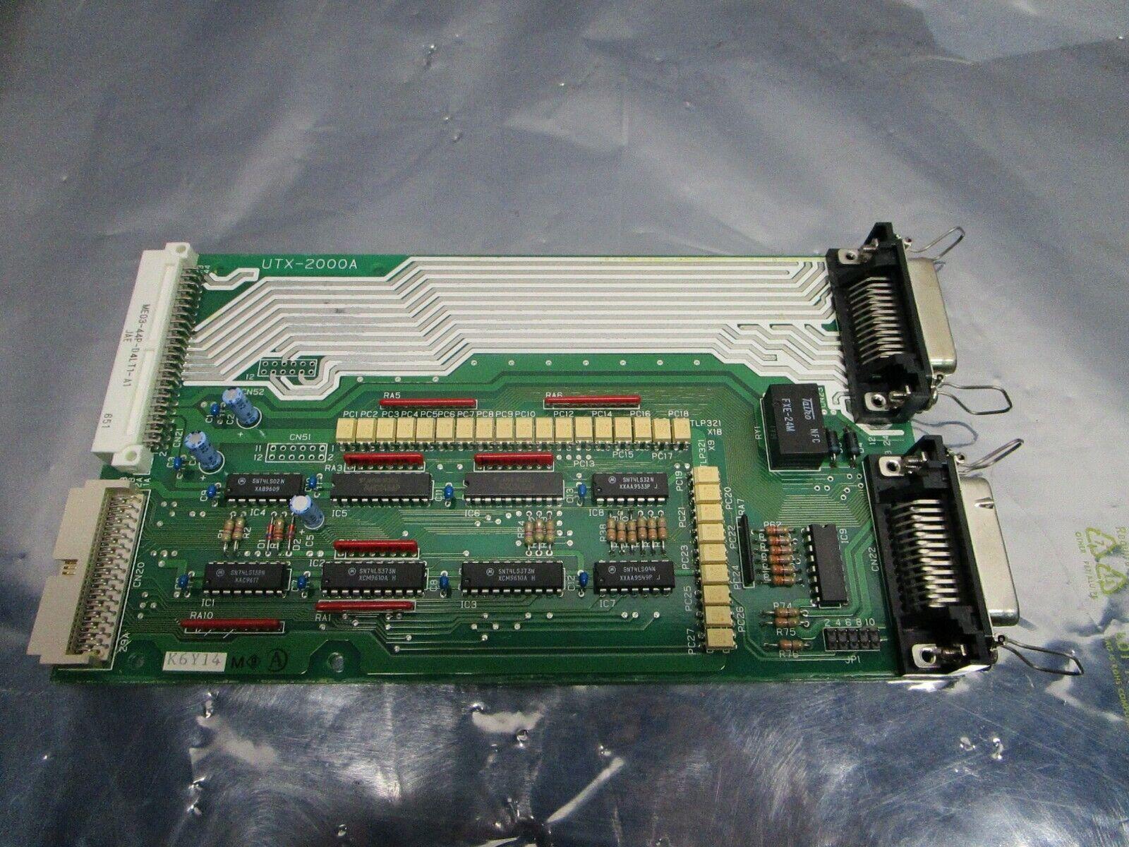 MECS UTX-2000A Robot Controller Board, PCB, ME03-44P-D4LT1-A1, 101201