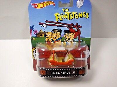 HOT WHEELS THE FLINTSTONES FLINTMOBILE RETRO ENTERTAINMENT ADULT COLLECTOR ](Flintstones Adults)
