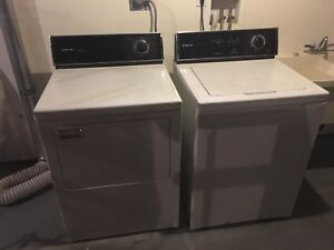 Washer and Dryer- available 18 October