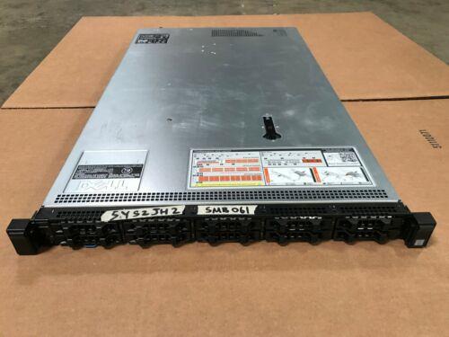 Dell PowerEdge R630 Barebones Server 10-Bay 1U w/ Motherboard H730 2x 750W