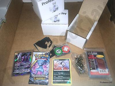 ProfessorJay Pokemon Cards MYSTERY GIFT BOX SET MIXED CARDS / HOLOS & More TCG