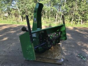 "John Deere 60"" Snowblower Attachment"
