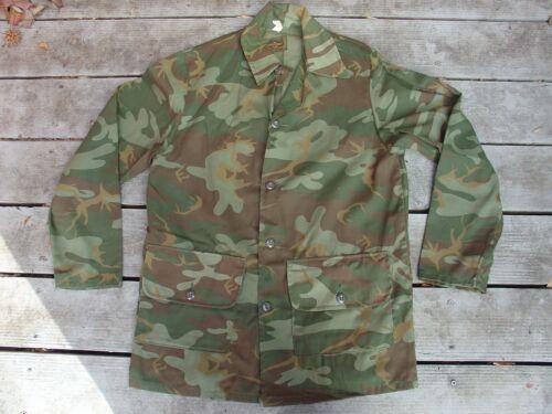 VIETANAM Period Saftbak Commerical US Army Advisor Camo Shirt Special Forces