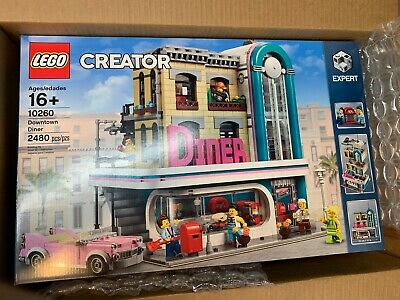 LEGO CREATOR 10260 DOWNTOWN DINER NEW CITY MODULAR EXPERT FREE SHIPPING