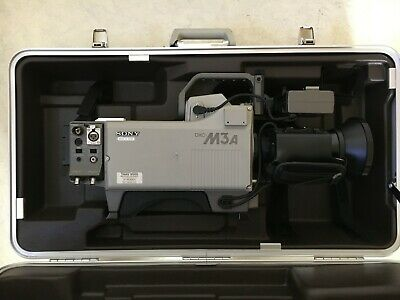Sony DXC M3A Vintage Tube Television Broadcast Studio Camera (Flying Case)