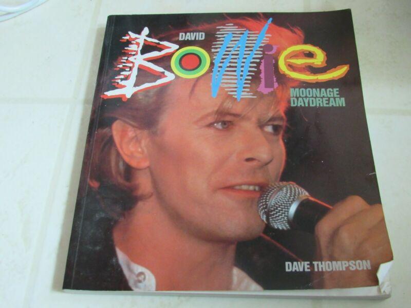 david bowie moonage daydream book