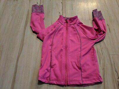 Gymboree gymgo miss XXS 2T toddler zip sweatshirt pink jacket activewear