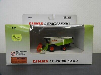 CLAAS LEXION 580 DIE-CAST NORSCOT METAL. 1/87 SCALE 56016
