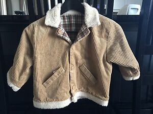 Boy's Corduroy Coat Size 24-36 mths