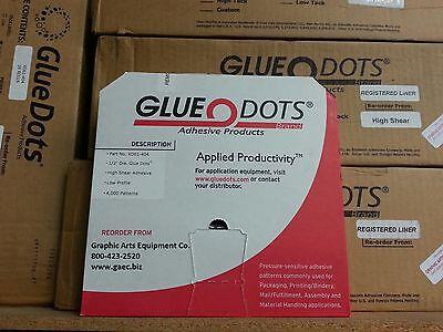 Glue Dots 12 High Shear Poster Dots Xd61-404 Box Of 4000 Dots