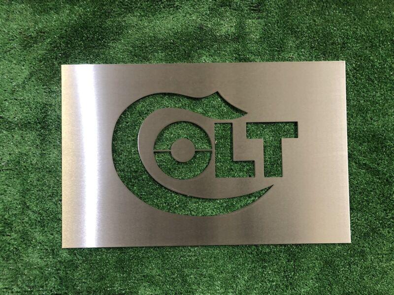 Colt Wall Sign