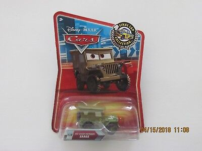 Disney Pixar Cars 2 PIT CREW MEMBER SARGE FINAL LAP COLLECTION TARGET Hot CB-YY