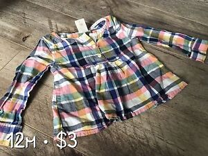 12m girl outfits