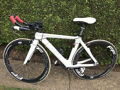 Planet X Stealth Pro Carbon TT Time Trial Bike Sram Medium
