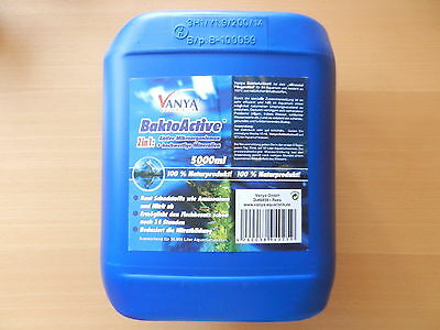 Vanya Bakto-Active BaktoActive 5 Liter 5000 ml für 30000 L