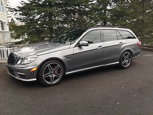 Mercedes E63 wagon 2012