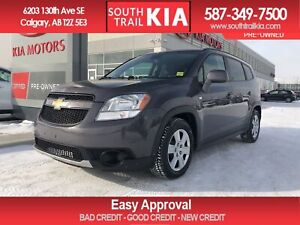 2012 Chevrolet Orlando LT, A/C , BLUETOOTH, PRICED TO SELL!