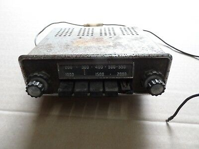 FORD CORTINA CAPRI RADIO / RETRO VINTAGE FORD CAR RADIO