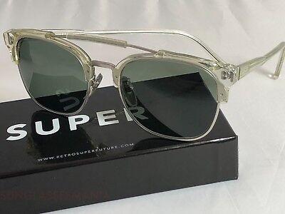 SALE Retrosuperfuture 49er Crystal Frame Sunglasses SUPER 464 NIB FAST SHIP