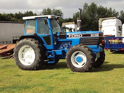 Ford New Holland 30 Series Tractors Operators Manual 8530-8630-8730-8830