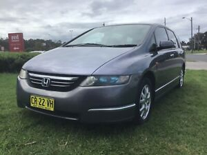 2006 Honda Odyssey 7 Seater LUXURY 4 Cyl Auto Wagon Top Of The Range Leumeah Campbelltown Area Preview