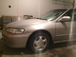 Honda Accord EX Leather 1999 - Manual