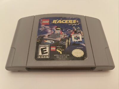 LEGO Racers (Nintendo 64, 1999) N64 Authentic Tested Clean FREE SHIPPING