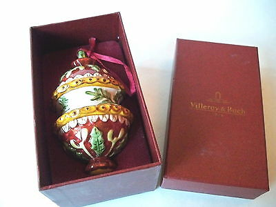 Villeroy & Boch Ceramic Tree Ornament with Hollies