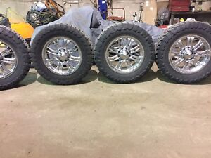 """20"""" Toyo tires and rims"""