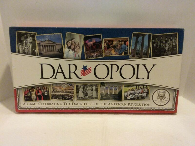 DAR Opoly: A Game Celebrating the Daughters of the American Revolution OPEN BOX