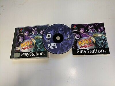 * Sony Playstation One Game * KISS PINBALL * PS1