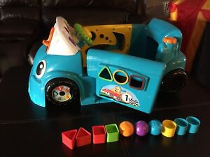 Fisher price smart stages car