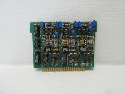 Unholtz-dickie U-d Corp 20496-a Used Tri-acdc Circuit Board 20496a