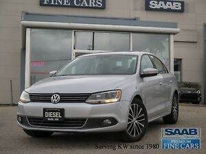 2013 Volkswagen Jetta Highline TDI Heated Leather Moonroof No Ac