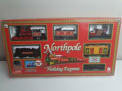 Northpole Holiday Express Kids Vintage Train Set 1999 engine fault Christmas