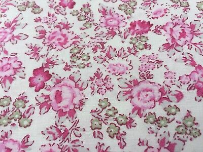 John Lewis cotton 100%, 'Mothers Day A', (per metre) dress fabric, (Mothers Day Fabric)