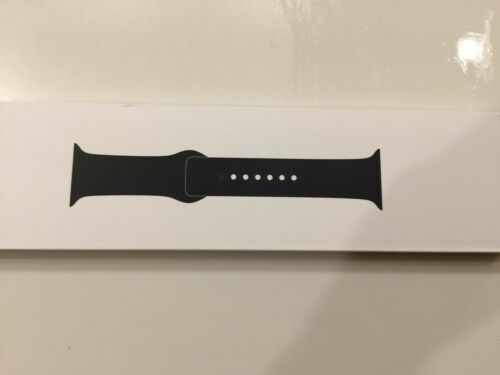 Apple - Sport Band for Apple Watch 44mm - Black NEW