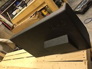 Subwoofer and ported sub box